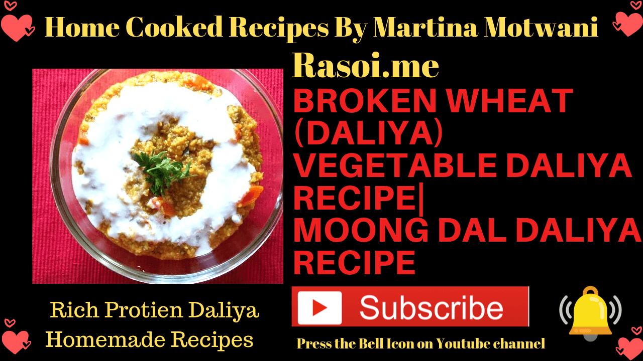 Daliya Recipe