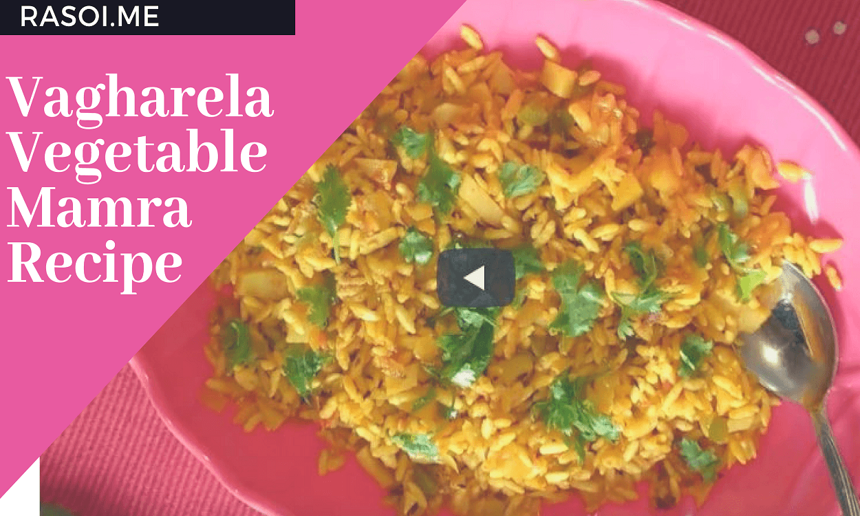 Vagharela Vegetable Mamra Recipe