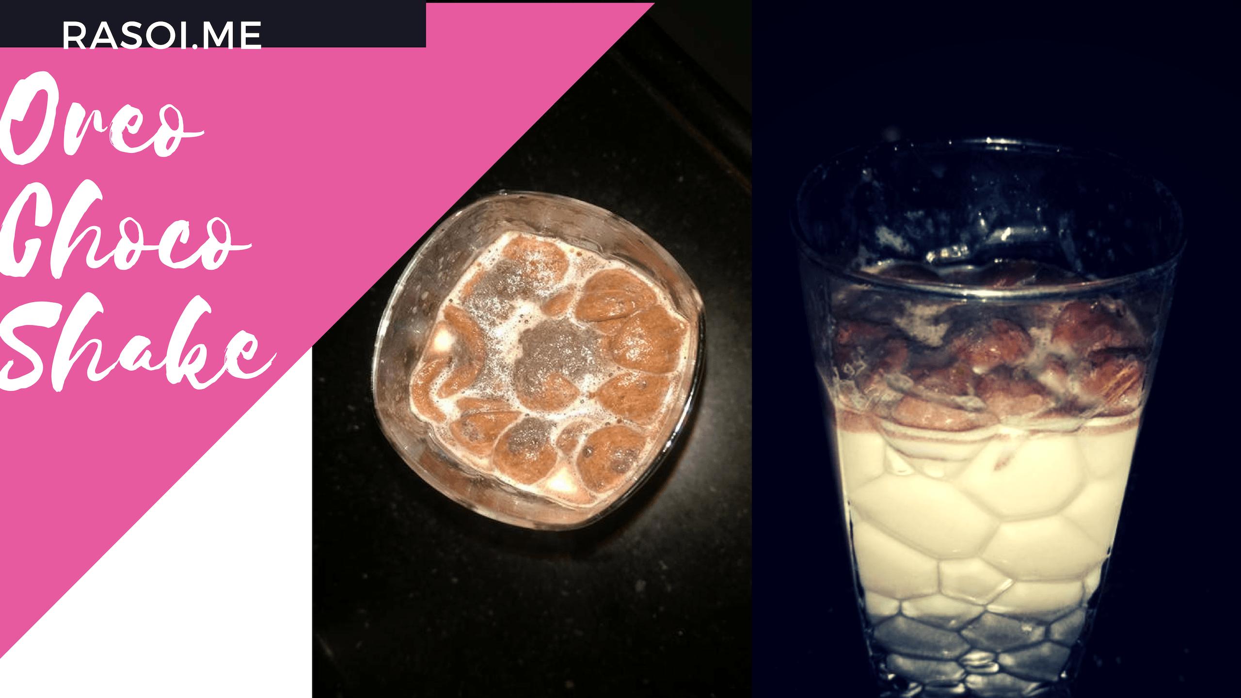 Oreo Chocos shake Recipe