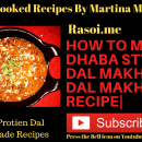 How to make Dhaba style Dal Makhani