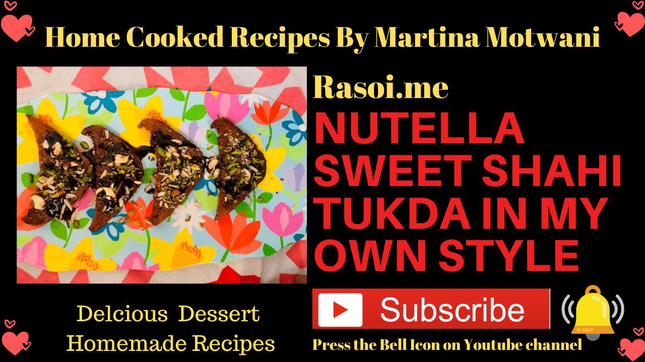 Shahi Tukda Recipe Rasoi.me