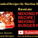 Moong Burger Recipe Rasoi.me