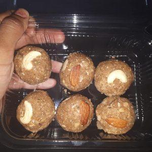 wheat dryfruit ladoo sugar free
